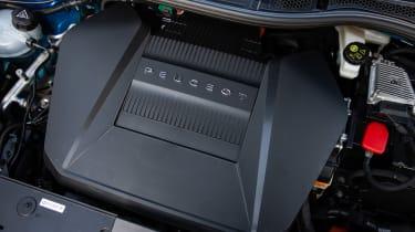 Peugeot e-208 hatchback electric motor