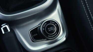 Steering wheel controls are standard