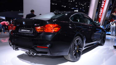 BMW M4 coupe 2014 rear static