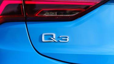 Audi Q3 Sportback SUV - rear badge