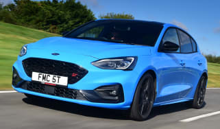 Ford Focus ST Edition driving