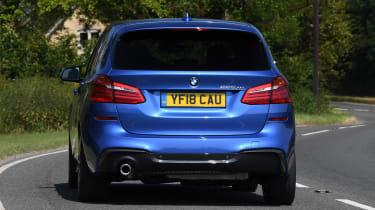 BMW 2 Series Active Tourer MPV rear 3/4 cornering