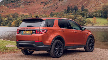 Land Rover Discovery Sport rear 3/4 static