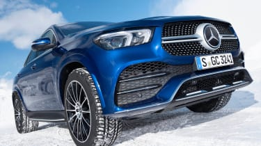 Mercedes GLE Coupe SUV grille