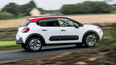 You can personalise the C3 with a contrasting roof colour
