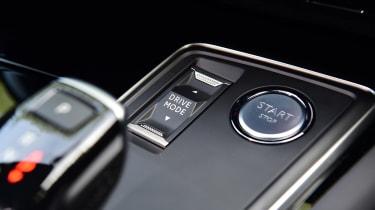 Peugeot 508 SW estate engine start button