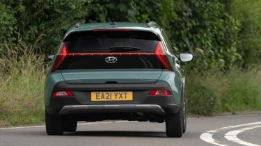 Hyundai Bayon SUV rear cornering