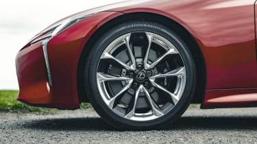 Lexus LC Convertible alloy wheels