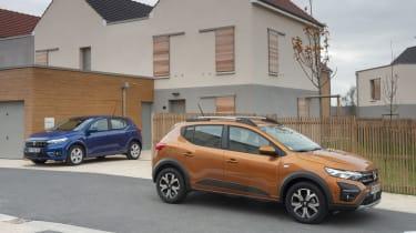 2021 Dacia Sandero hatch and Stepway model