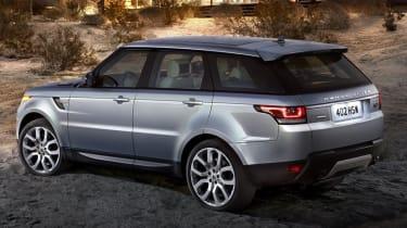 Range Rover Sport 2013 rear quarter