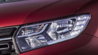 Dacia Sandero hatchback headlights