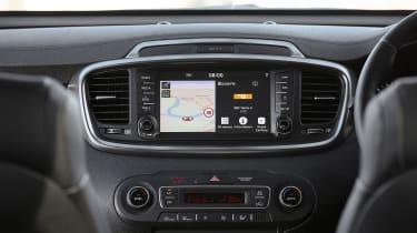 Kia Sorento SUV infotainment display