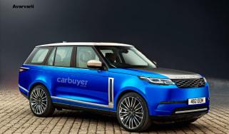 2024 electric Range Rover