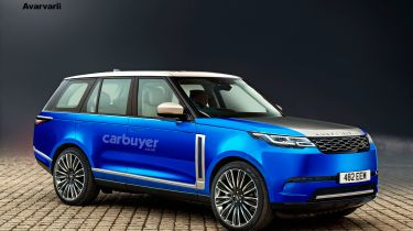 2024 electric Range Rover