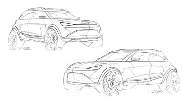 2023 Smart SUV - sketches