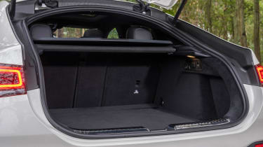 Mercedes GLE SUV Coupe luggage space