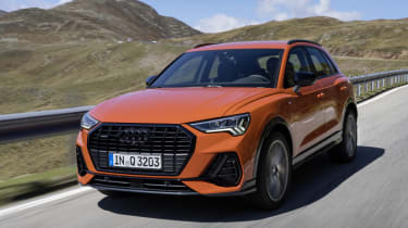 The Audi Q3 is offered with two diesel options - a 148 or 187bhp 2.0-litre diesel engine.