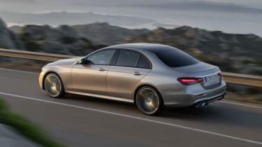 Mercedes E-Class - front 3/4 dynamic