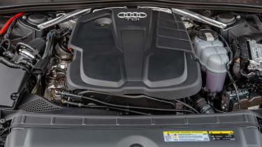 Audi A4 Avant estate engine bay