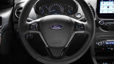 Ford Ka+ hatchback steering wheel