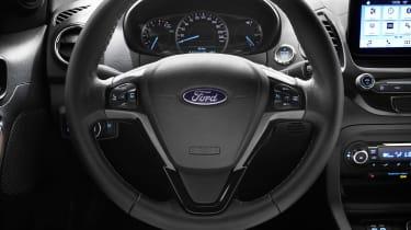 Ford Ka+ hatchback steering wheel
