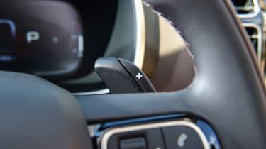 Citroen C5 Aircross SUV steering wheel
