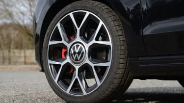 Volkswagen up! GTI hatchback alloy wheels
