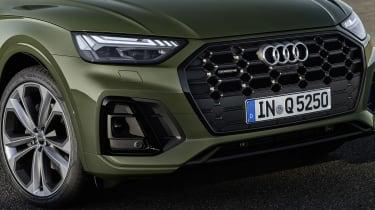 Audi Q5 facelift front end
