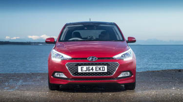 Along with the five-door i20, there's a three-door i20 Coupe and the i20 Active, which has a crossover design cues