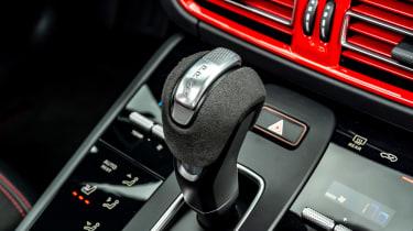 Porsche Macan SUV gear selector
