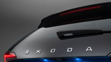 2019 Skoda Scala rear hatch