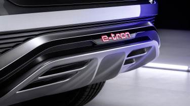 Audi Q4 Sportback e-tron diffuser
