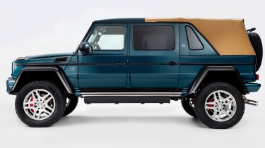 As well as luxury, the G650 Landaulet should also be incredibly capable off road, thanks to its 450mm ground clearance