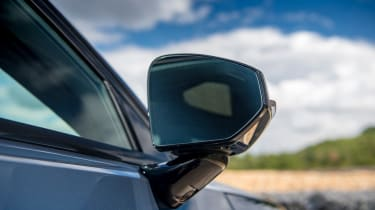 Polestar 2 hatchback door mirror