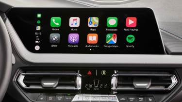 BMW M135i Apple CarPlay screen