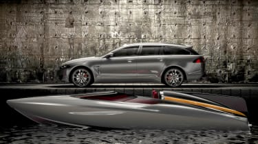 The Concept Speedboat by Jaguar Cars