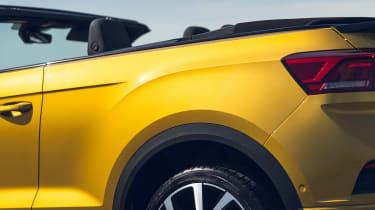 Volkswagen T-Roc Cabriolet body styling