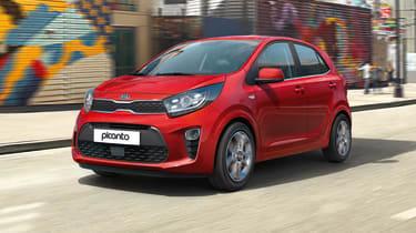 2020 Kia Picanto driving