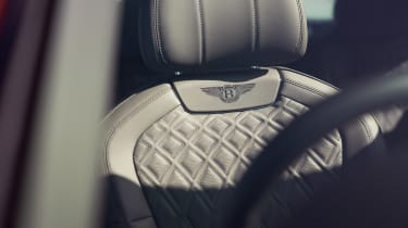 Bentley Continental Flying Spur saloon front seats