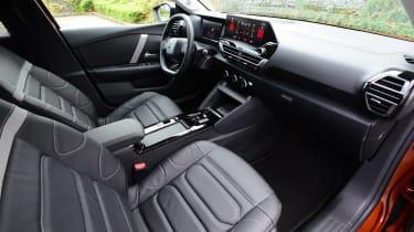 Citroen C4 hatchback front seats
