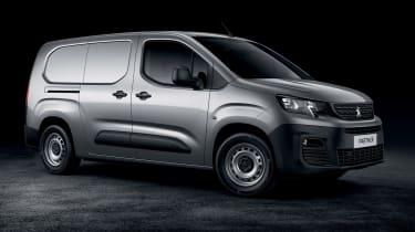 2018 Peugeot Partner van side
