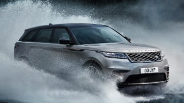 When equipped with air suspension, the Velar becomes more capable off road