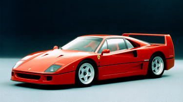 Fuel for thought on the F40