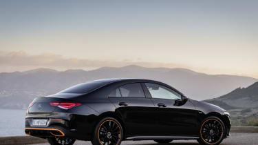 Mercedes CLA rear