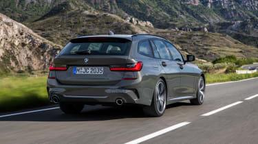 2019 BMW 3 Series Touring - rear view