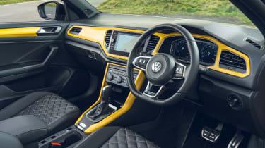 Volkswagen T-Roc Cabriolet interior