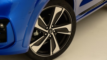 2020 Ford Puma - front alloy wheel close-up
