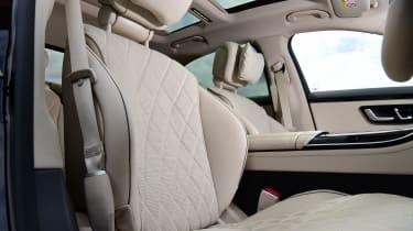 Mercedes S-Class saloon front seats