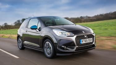 The BlueHDi 120 is the most economical, returning up to 78.5mpg