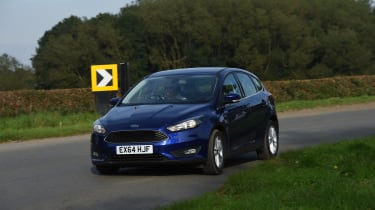 As you'd expect from a family aimed hatchback, the Ford Focus achieved a five-star safety rating from Euro NCAP.